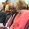 The Honorable Clarence Thomas at the Antonin Scalia Law School Dedication.  Photo by:  Ron Aira/Creative Services/George Mason University