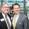 Steven Eagle and David Rehr at the Antonin Scalia Law School Dedication.  Photo by:  Ron Aira/Creative Services/George Mason University