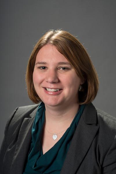 Jennifer Gregg, Program Coordinator, Judicial Education Program, Law & Economics Center. Photo by Creative Services/George Mason University