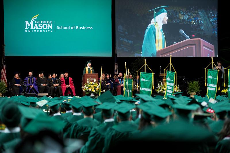 2018 School of Business Degree Celebration
