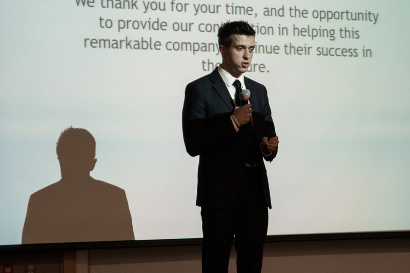School of Management, Fall 2013 Case Competitions.