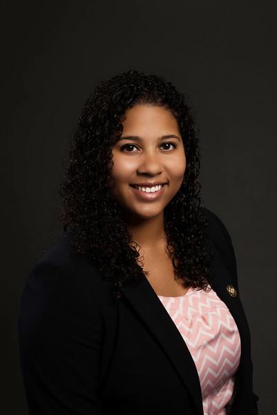 Marissa Jerry, School of Business EBLA scholarship. Photo by Creative Services/George Mason University