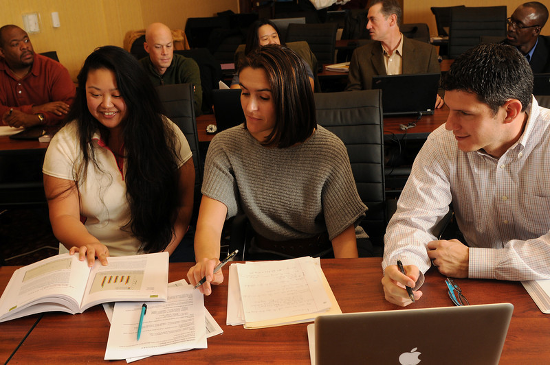 School of Business Techman students. Photo by Creative Services/George Mason University