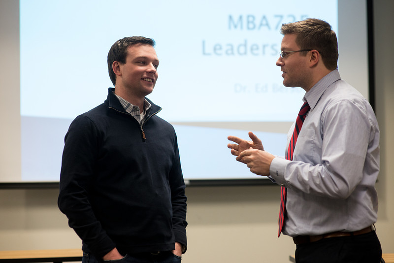 School of Business MBA 725 Leadership class