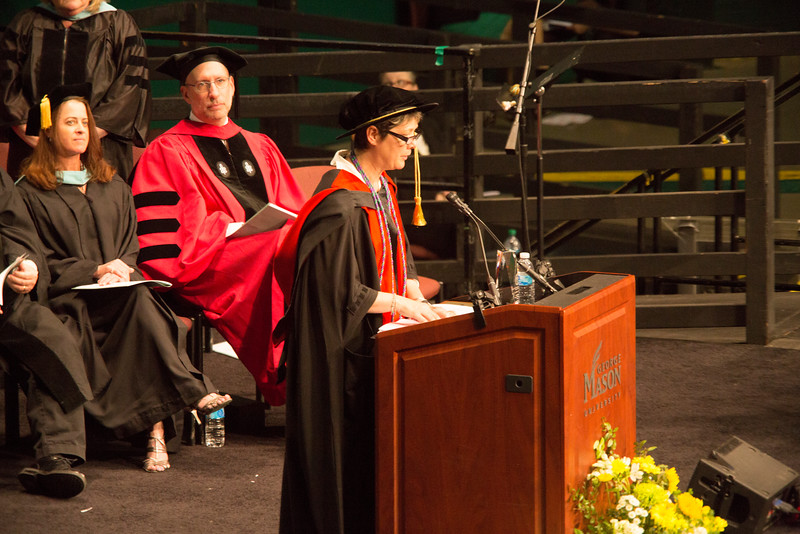 Graduate School of Education Convocation.  Photo by Levi Magyar