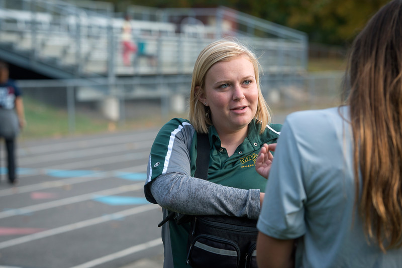Sara Woodring, athletic trainer