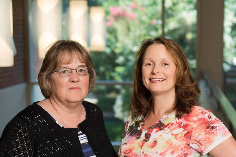 Professors Priscilla Norton and Dawn Hathaway