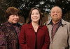 Buehl, e091104147, Michelle Buehl and family, CEHD.  Photo by Creative Services/George Mason University