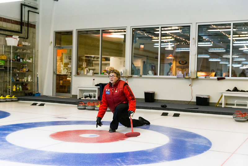 George Mason University participated in Curling