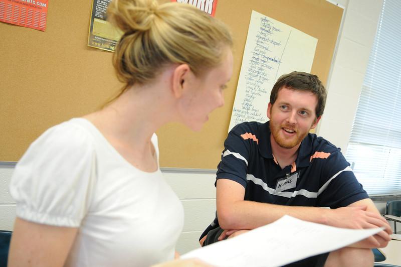110711053 - Teachers take part in FAST TRAIN programs through CEHD.