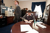 Mason LIFE student Arjun Hemphill works in the Congressional office of Pennsylvania Representative Joe Pitts on Capitol Hill in Washington DC.