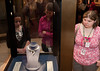The Hope Diamond is seen while Mason LIFE Students visit the Natural History Museum in Washington DC.