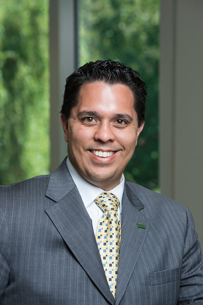 Ken Balbuena, Communications and Marketing Officer, College of Education and Human Development. Photo by Ron Aira/Creative Services/George Mason University