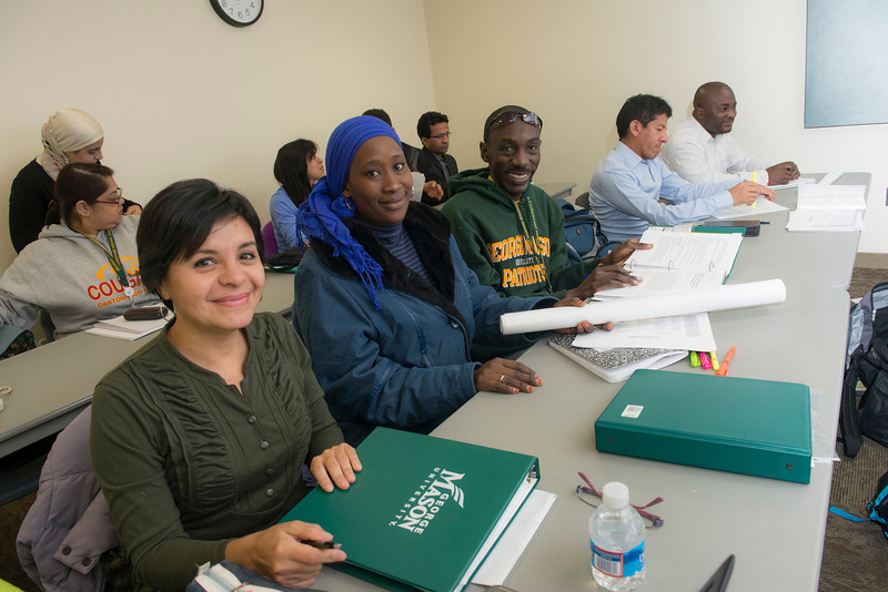 International teachers visit Mason
