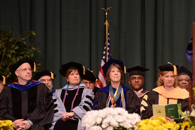 College of Health and Human Services Convocation 2012. Photo by Evan Cantwell/Creative Services/George Mason University
