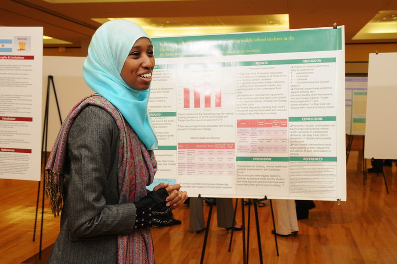 College of Health and Human Services Research Day. Photo by Evan Cantwell/Creative Services/George Mason University