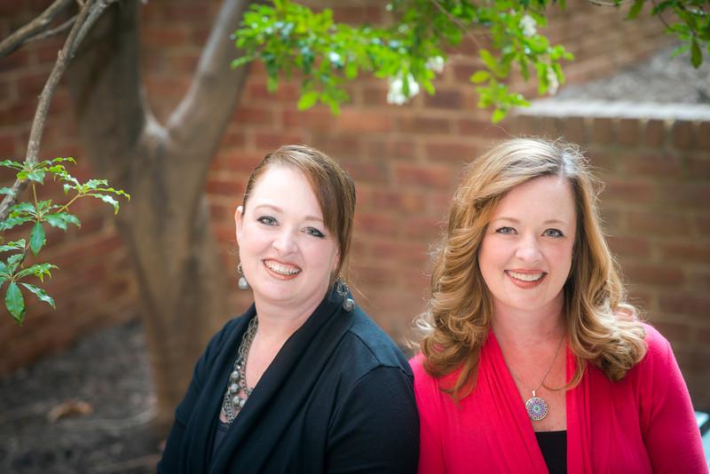 Rebecca and Caroline Sutter