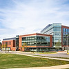 Peterson Family Health Sciences Hall, College of Health and Human Services.  Photo by:  Ron Aira/Creative Services/George Mason University