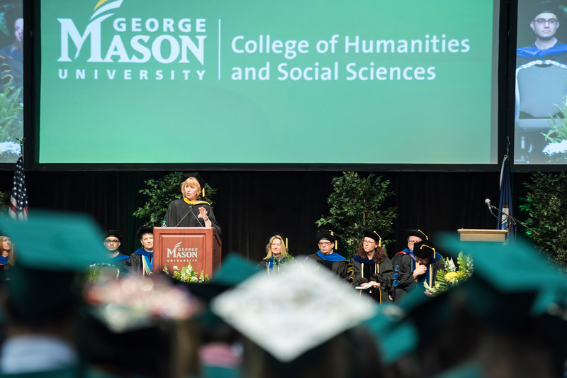 College of Humanities and Social Sciences II Degree Celebration