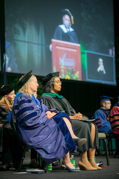 College of Humanities and Social Sciences II Degree Celebration on Friday May 17, 2019. Photo by John Boal Photography