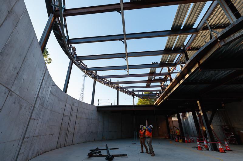 Academic IV construction site