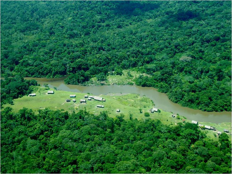 The Maijuna live in small communities on the banks of the river in the Peruvian Amazon.  Provided by German Perilla