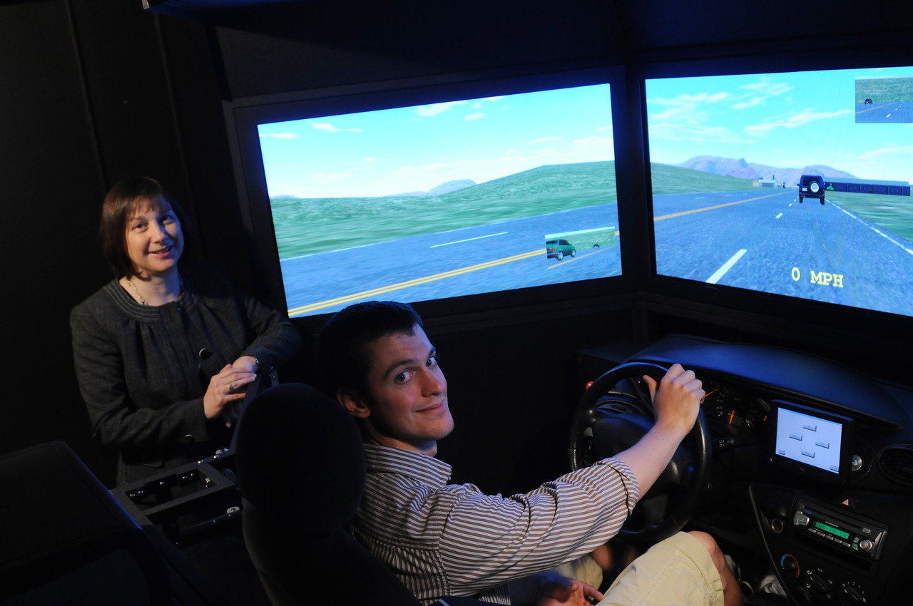 The Arch Lab's Driving Simulator