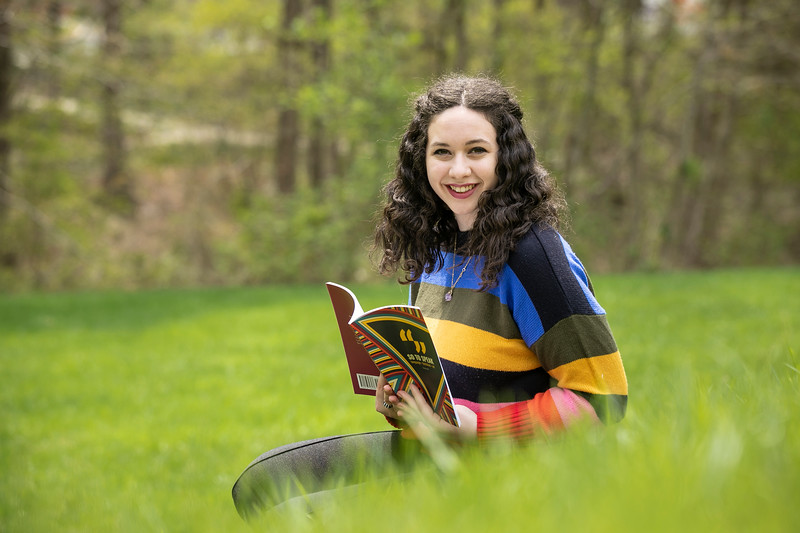 Alexandria Petrassi  is pursuing her MFA in Poetry, serving as the Assistant Editor for So to Speak, and the Editor-in-Chief/Co-Founder of Floodmark.  Photo by:  Ron Aira/Creative Services/George Mason University