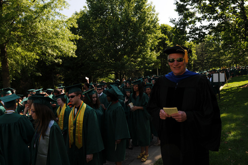 College of Humanities and Social Sciences Undergraduate Convocation 2012. Photo by Evan Cantwell/Creative Services/George Mason University