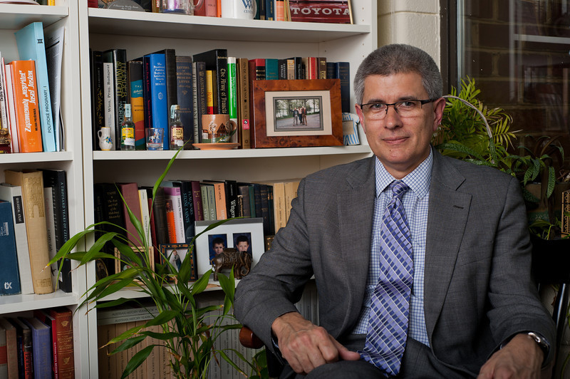 Professor Mills Kelly, Global Affairs Program. Photo by Alexis Glenn/Creative Services/George Mason University