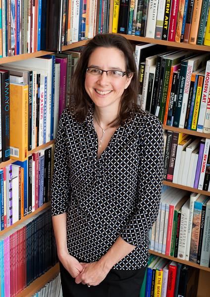Professor Michelle Greet, History and Art History. Photo by Alexis Glenn/Creative Services/George Mason University