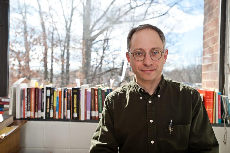 Professor Zachary Schrag, History and Art History. Photo by Alexis Glenn/Creative Services/George Mason University