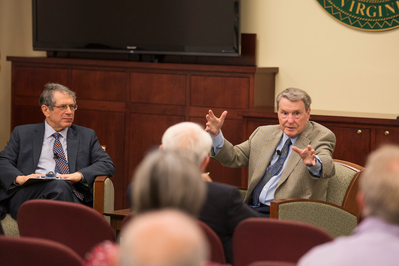 Jack Censer interviews Jim Lehrer
