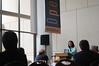 100811119 - Dr. Joan Petersilia, winner of the Distinguished Achievement Award in Evidence-Based Crime Policy, addresses the crowd at the 2nd Annual CEBCP Symposium.
