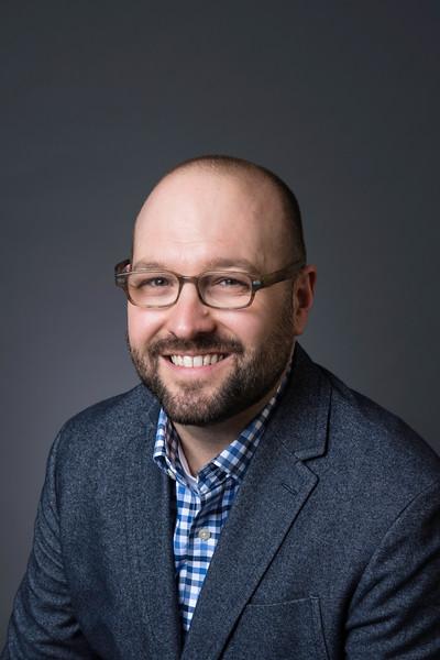 Benjamin Gatling, Assistant Professor, English. Photo by Creative Services/George Mason University
