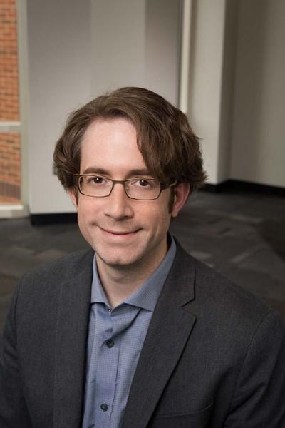 Jason Dunick, Undergraduate Director, Economics. Photo by Creative Services/George Mason University