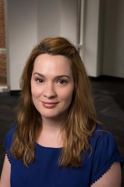 Stephanie Barnett, Undergraduate Academic Advisor, Criminology, Law and Society. Photo by Creative Services/George Mason University