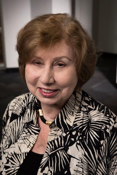 Jane Flinn, Professor, Psychology, CHSS.  Photo by Evan Cantwell/Creative Services/George Mason University