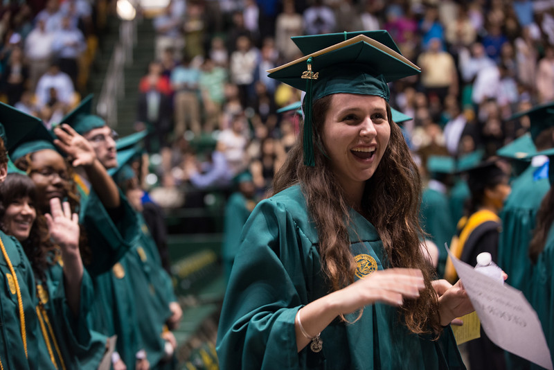 College of Science Convocation. Photo by Evan Cantwell/Creative Services/George Mason University