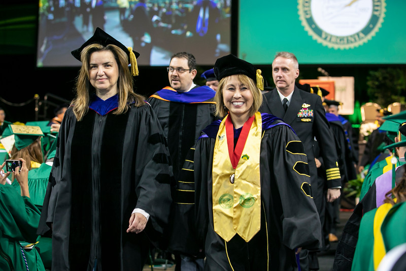 College of Science Degree Celebration 2019.  Photo by:  Ron Aira/Creative Services/George Mason University