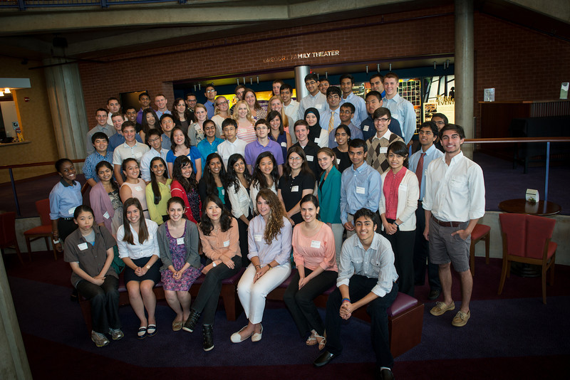 Aspiring Scientists Summer Internship Program 2013 group photo