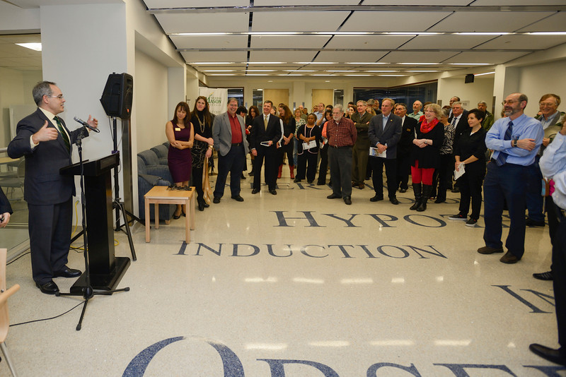 Exploratory Hall Dedication and Open House