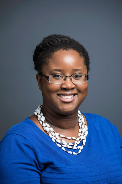 Kerone Wetter, Assistant Director of Marketing and Communication, College of Science.  Photo by:  Ron Aira/Creative Services/George Mason University