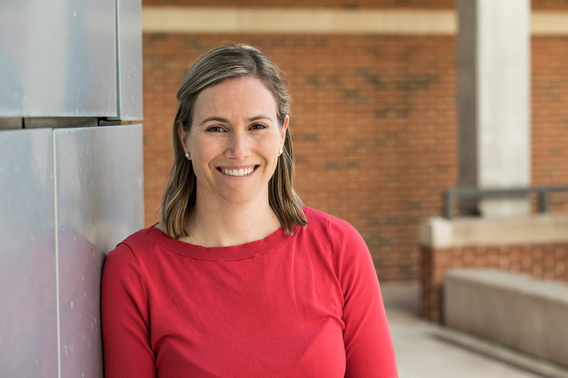 Natalie Burls, <br /> Assistant Professor<br /> Dept. of Atmospheric, Oceanic, & Earth Sciences.  Photo by:  Ron Aira/Creative Services/George Mason University