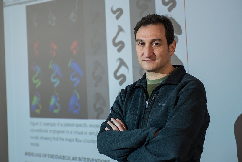 Juan Cebral, Professor, School of Physics, Astronomy, Computational Science, COS