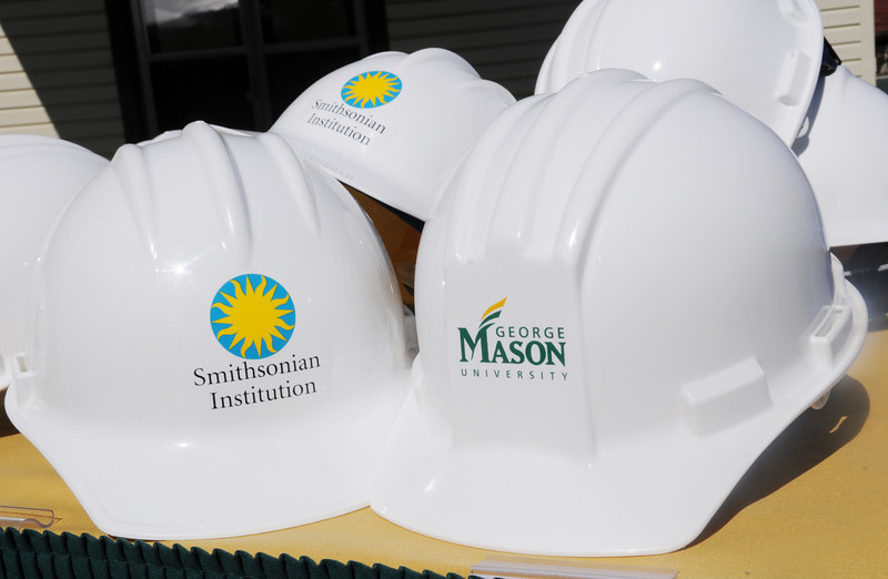 110629267e - Smithsonian-Mason Groundbreaking Ceremony. Photo by Evan Cantwell/Creative Services/George Mason University