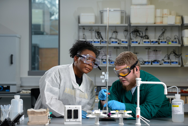 College of Science Chemistry lab