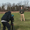 WJLA-TV7 Forensics Interview, Photo By Ian Shiff/Creative Services/George Mason University