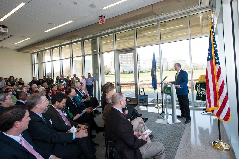Potomac Science Center Dedication