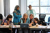 A College of Science STEM class.  Photo by Creative Services/George Mason University